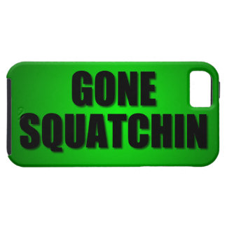Gone Squatchin Case For The iPhone 5
