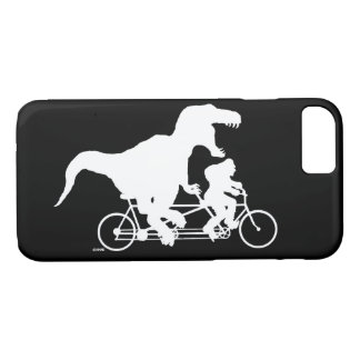 Gone Squatchin cycling with T-rex iPhone 7 Case