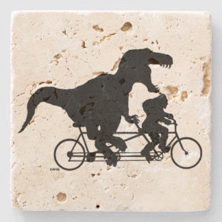 Gone Squatchin cycling with T-rex Stone Coaster