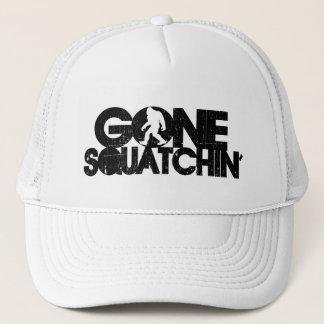 Gone Squatchin Distressed Trucker Hat