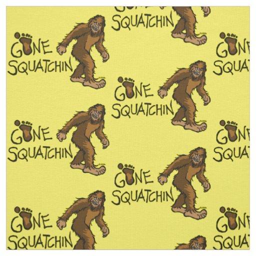 Gone Squatchin Fabric