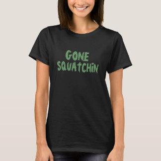 Gone Squatchin hunter green T-Shirt
