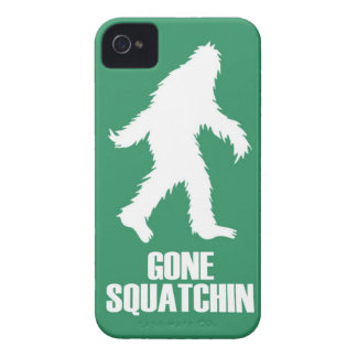 gone squatchin iPhone 4 Case-Mate case