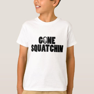 Gone Squatchin Kids T-shirt
