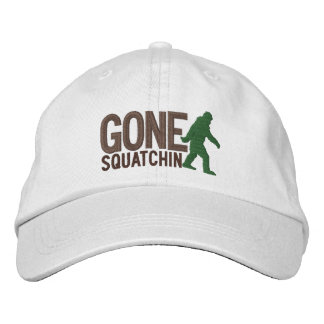 GONE SQUATCHIN LARGE embroidered cap