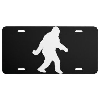 Gone Squatchin' License Plate