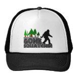 Gone Squatchin Original Design Trucker Hat