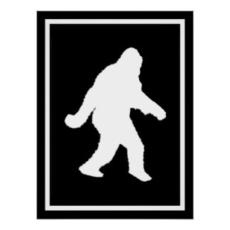 Gone Squatchin' Perfect Poster