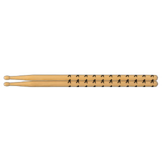 Gone Squatchin - Squatch Silhouette Drumsticks