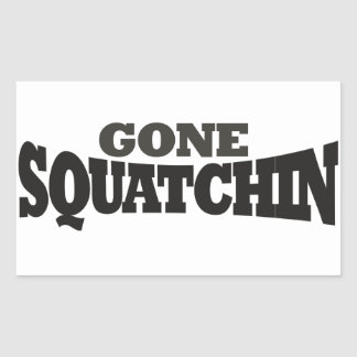 Gone Squatchin Sticker