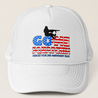 Gone Squatchin USA Trucker Hat