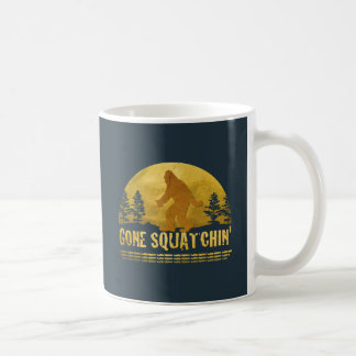 Gone Squatchin' (vintage sunset) Coffee Mug