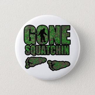 Gone Squatchin woodlands 2 Inch Round Button