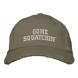 Gone Squatching - Professional Bigfoot Hunter Hat Embroidered Baseball Caps