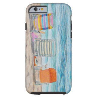 Gone Swimming Sketch Tough iPhone 6 Case