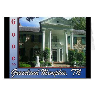 Gone to Graceland Memphis, TN Card