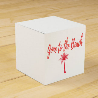 gone to the Beach Favor Box
