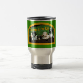 gone to the dogs copy travel mug