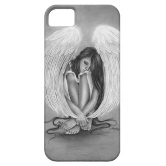 Gone too soon Angel iPhone Case