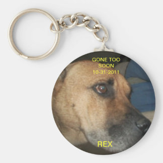 Gone too soon keychain
