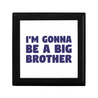 Gonna Be A Big Brother Trinket Box