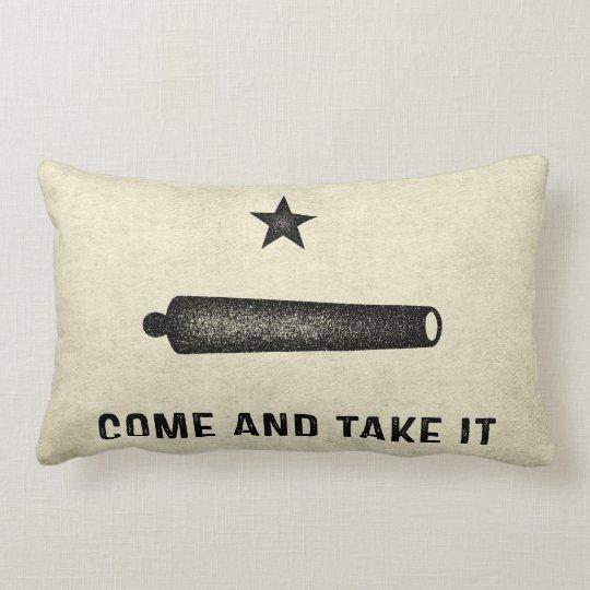 Gonzales Flag Lumbar Pillow