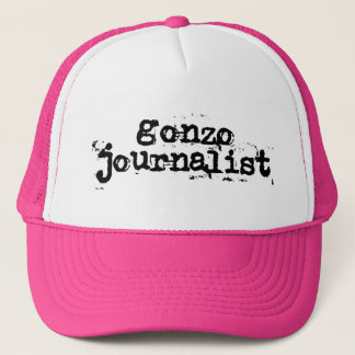 Gonzo Journalist Trucker Hat