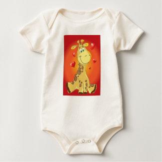Goo Goo Giraffe baby body suit Baby Bodysuit