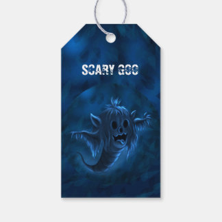 GOO MONSTER HALLOWEEN  GIFT TAG