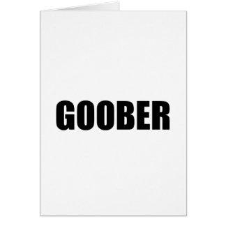 Goober Card