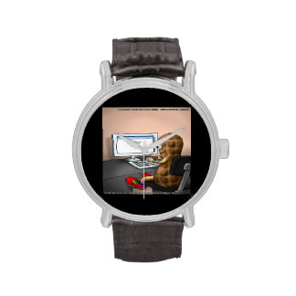 Goober The Nuts On The Net Funny Unisex Watch Wrist Watch