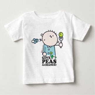 GoochiCoo - Give Peas A Chance Baby T-Shirt