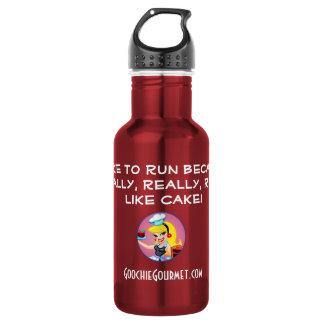Goochie Gourmet 32oz. Pink 532 Ml Water Bottle