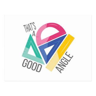 Good Angle Postcard