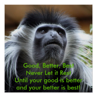 Good, Better, Best,Never Let it Rest! Poster