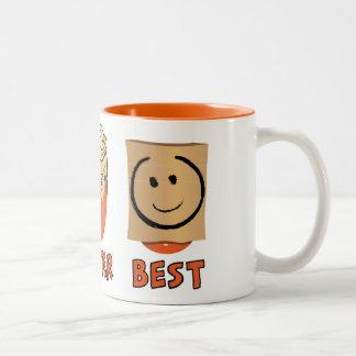 Good,Better ,Best Two-Tone Coffee Mug
