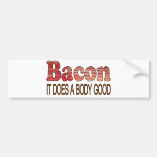 Good Body Bacon Bumper Sticker