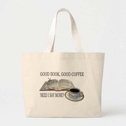 GOOD BOOK, GOOD COFFEE CANVAS BAG