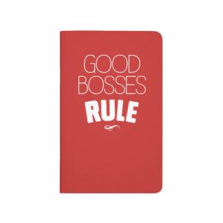 Good Bosses Rule Notebook