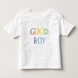 Good Boy rainbow t-shirt