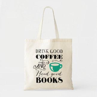 Good Coffee & Books Budget Tote Bag