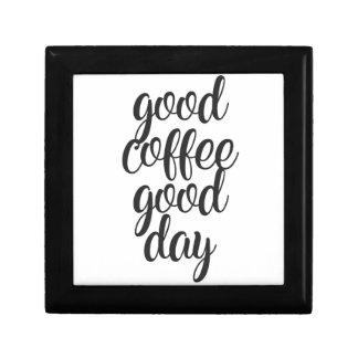 Good Coffee Good Day Gift Box