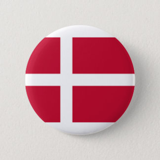 Good color Denmark flag Print 2 Inch Round Button