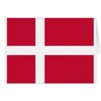 Good color Denmark flag Print Card