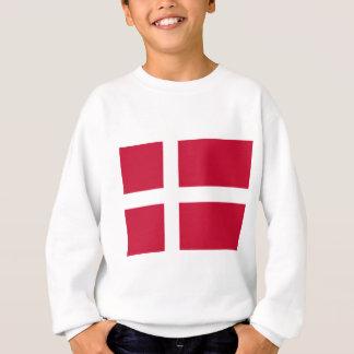 Good color Denmark flag Print Sweatshirt