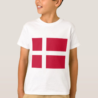 Good color Denmark flag Print T-Shirt