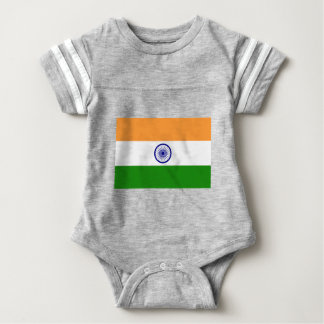 "Good color Indian flag ""Tiranga"" Baby Bodysuit"