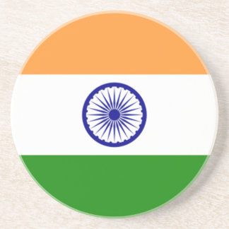 "Good color Indian flag ""Tiranga"" Coaster"