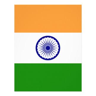 "Good color Indian flag ""Tiranga"" Letterhead"
