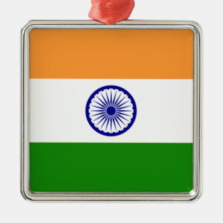 """Good color Indian flag """"Tiranga"""" Metal Ornament"""